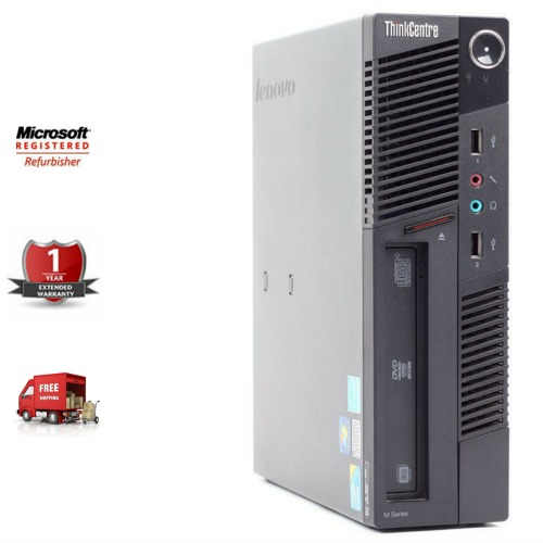 Refurbished Lenovo ThinkCentre M90 USFF by InnovatePC.com
