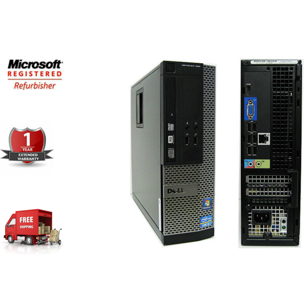 Refurbished DELL Optiplex 390 Small Form Factor PC by InnovatePC.com